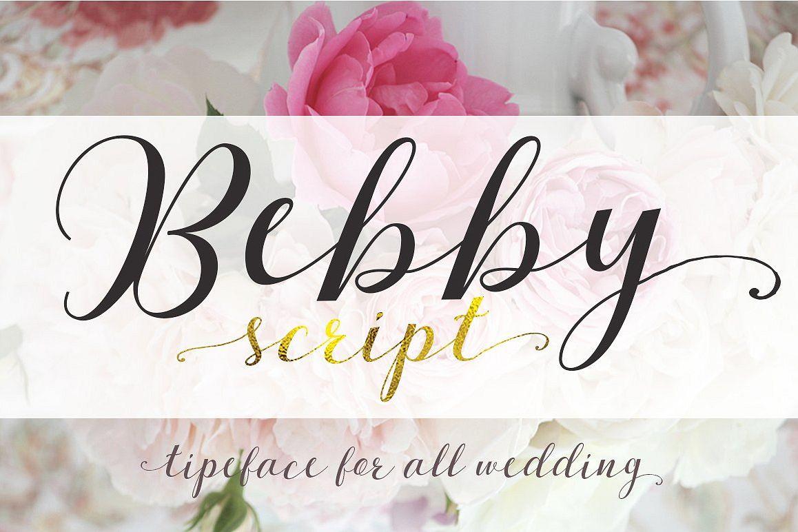 Bebby Script example image 1