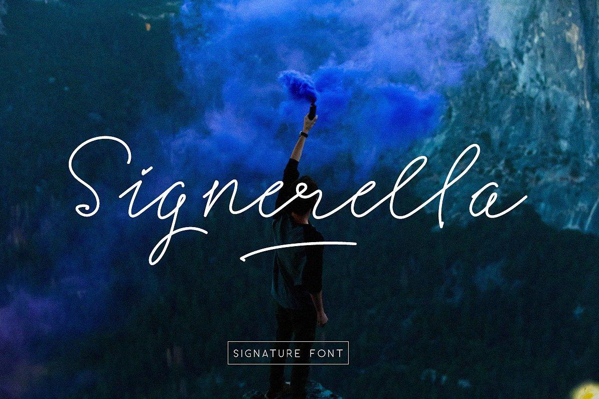 Signerella Font Duo example image 1
