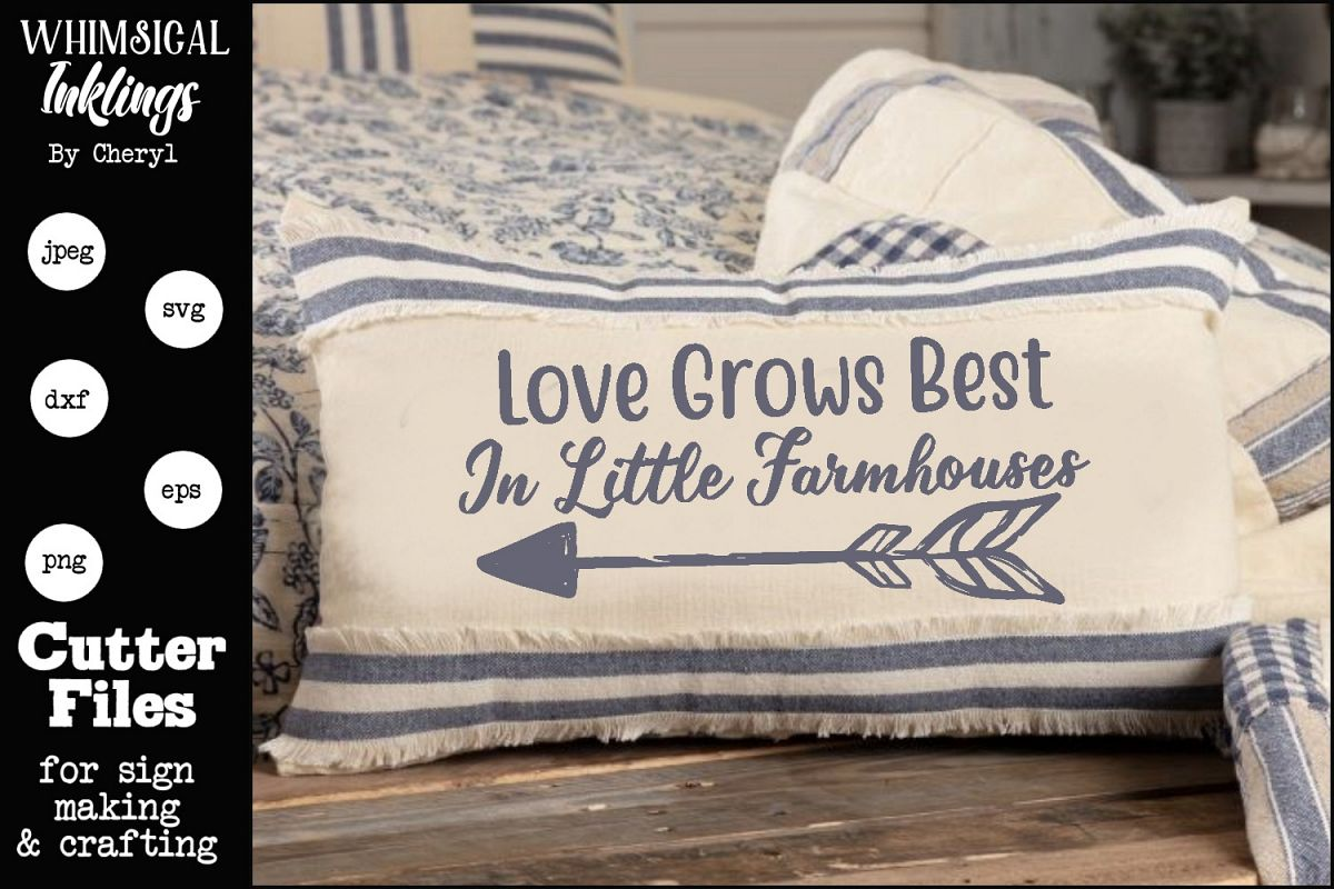 Love Grows Best SVG example image 1
