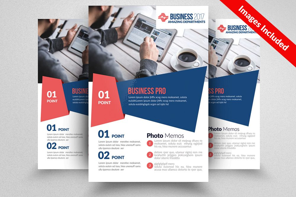 Global Network Services Flyer Template  example image 1