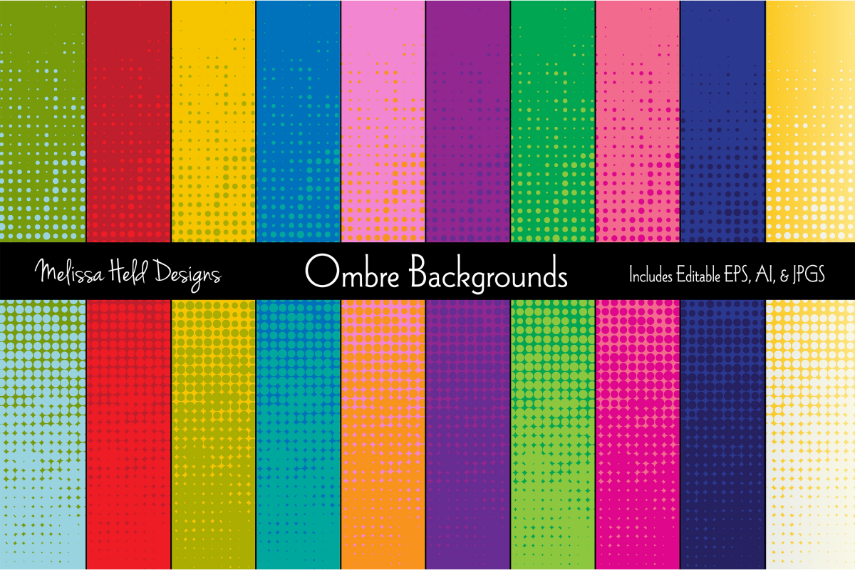 Ombre Backgrounds example image 1