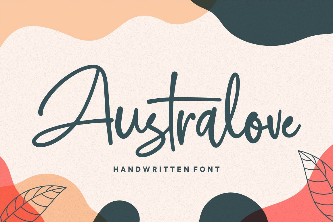 Australove - Modern Handwritten example image 1