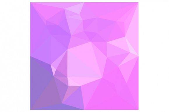 Medium Orchid Abstract Low Polygon Background example image 1