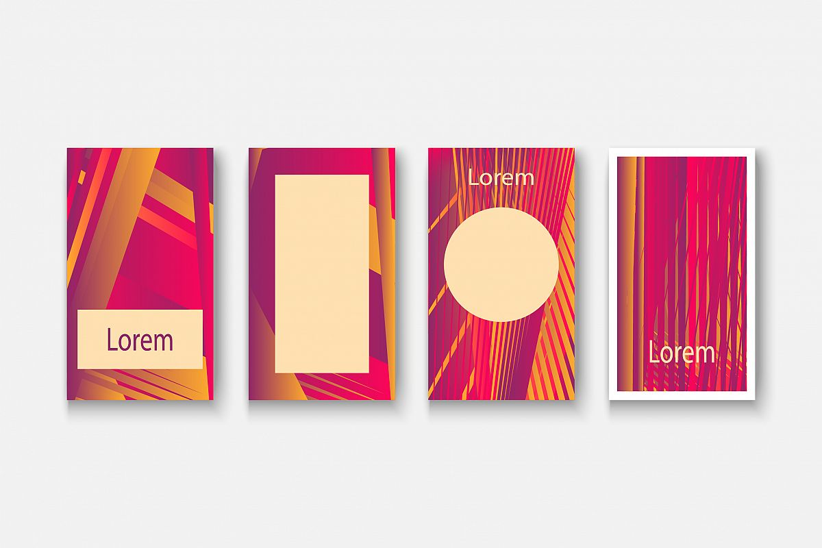 Social media network concept banner for design illustration example image 1