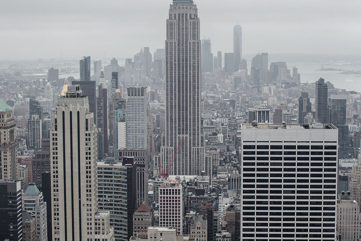 Cloud day in New York example image 1