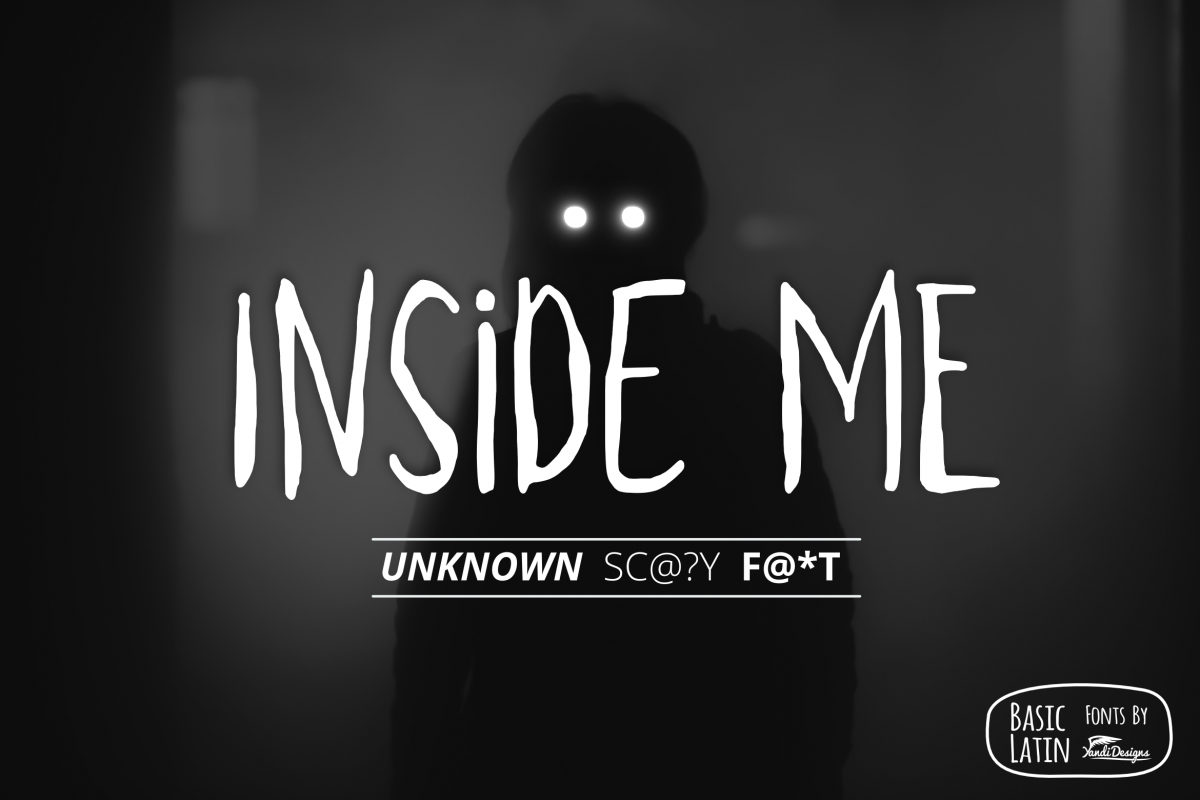 Inside Me Font example image 1