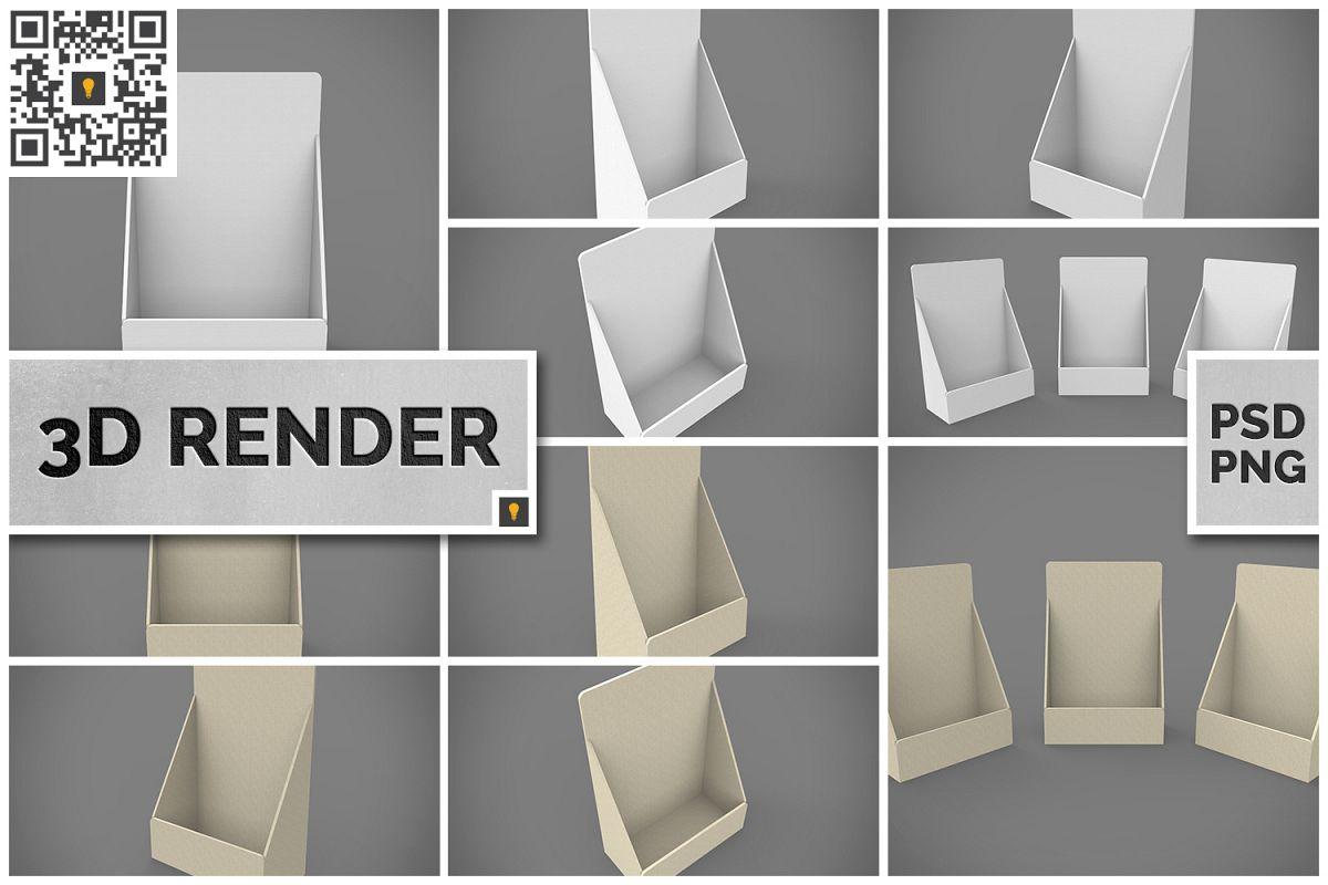 Table Top Display 3D Render example image 1
