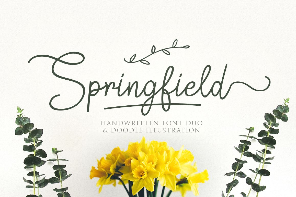 Springfield | FontduoExtras example image 1