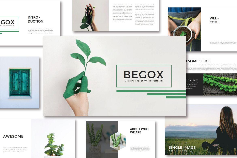 Begox Keynote Temp example image 1