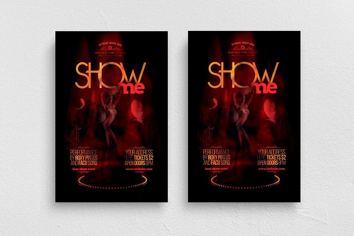 Show Me Flyer Template example image 1
