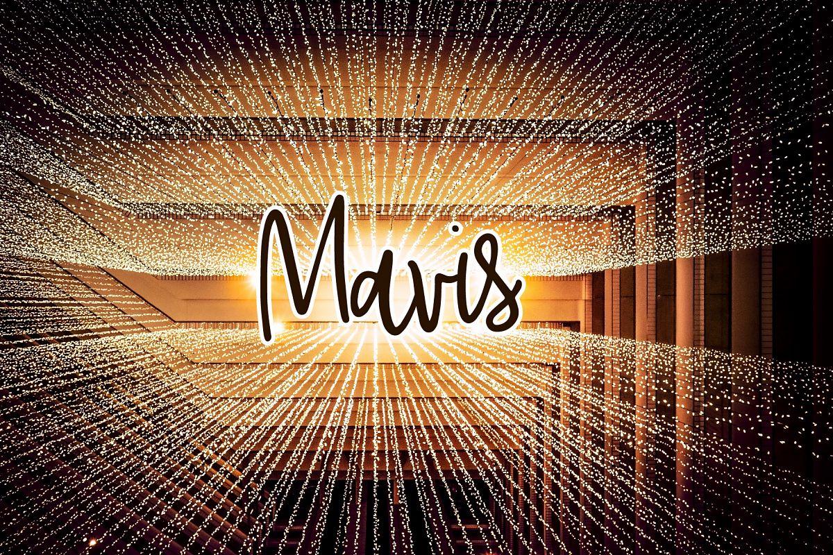 Mavis example image 1
