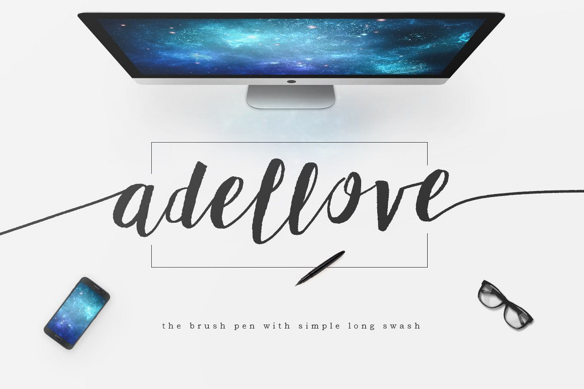 Adellove Typeface example image 1