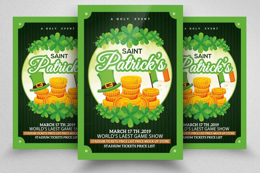 Saint. Patricks Day Flyer example image 1