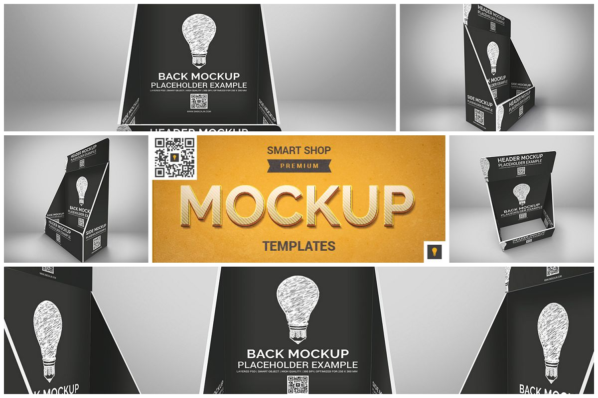 Table Top Display Mockup example image 1