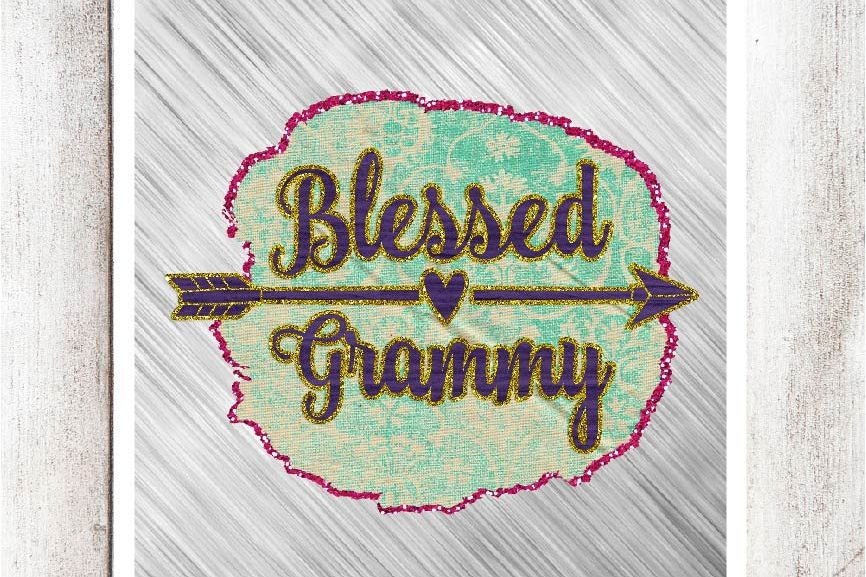 Blessed Grammy Digital Graphic example image 1