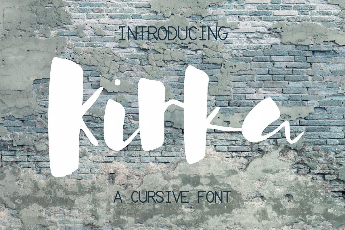 Kirka Font example image 1