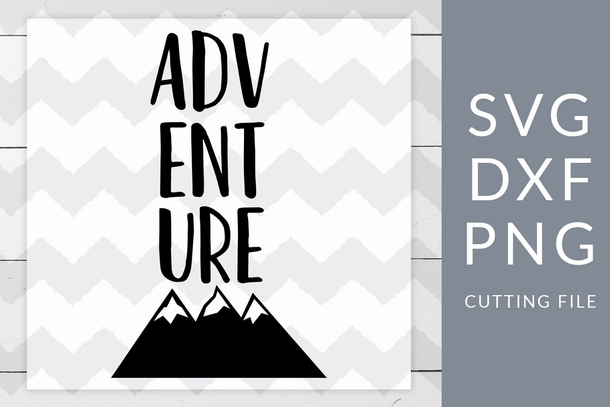 Adventure Camping SVG, DXF, PNG, Cut File example image 1