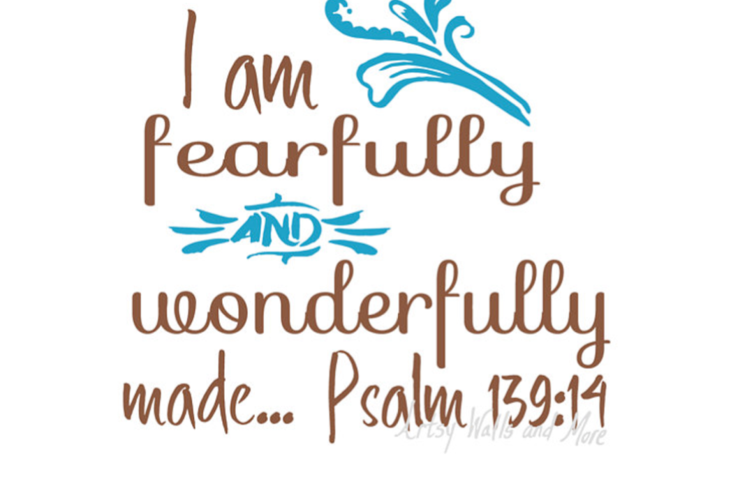 I Am Fearfully And Wonderfully Made Svg Design Bundles