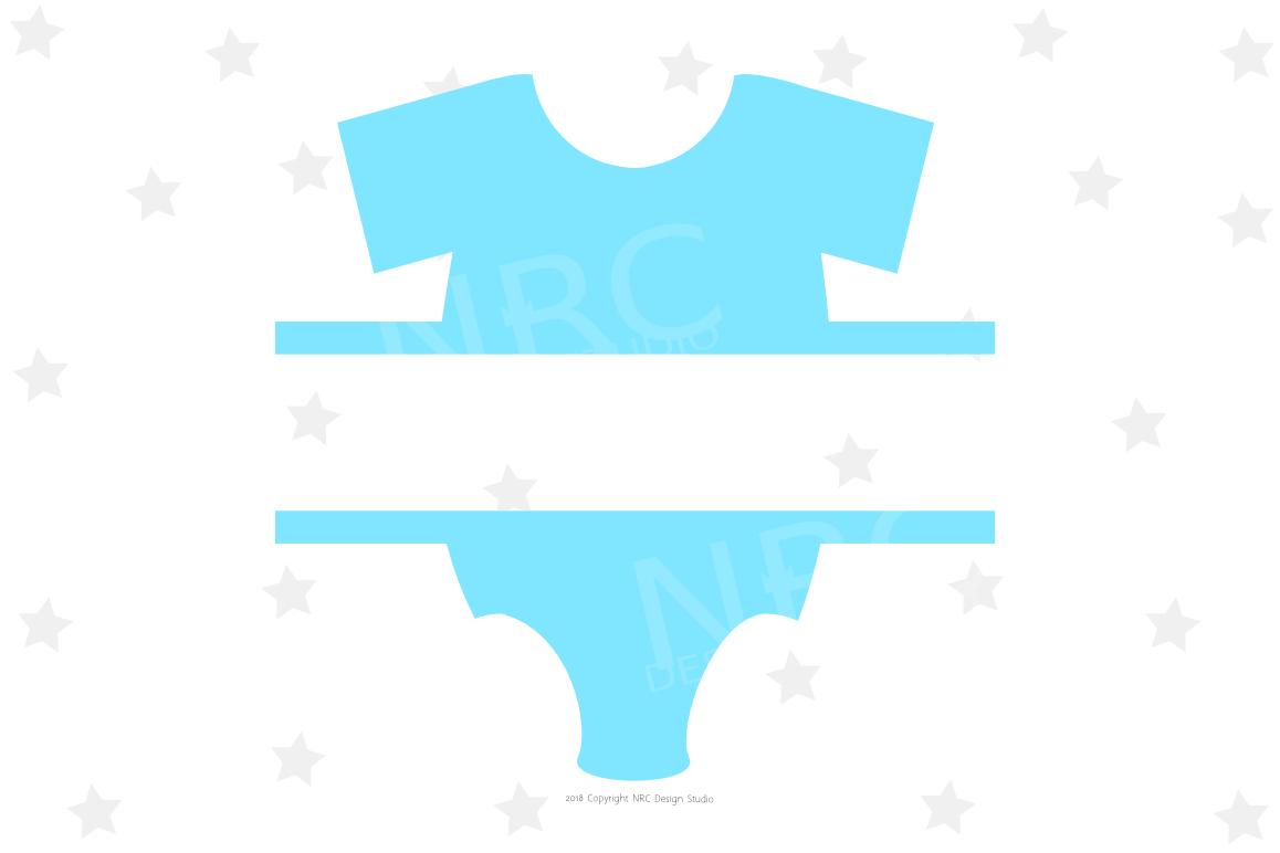 Baby Clothes Frame SVG File by NRCDesig | Design Bundles
