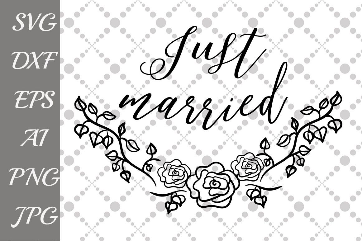 Just married Svg example image 1