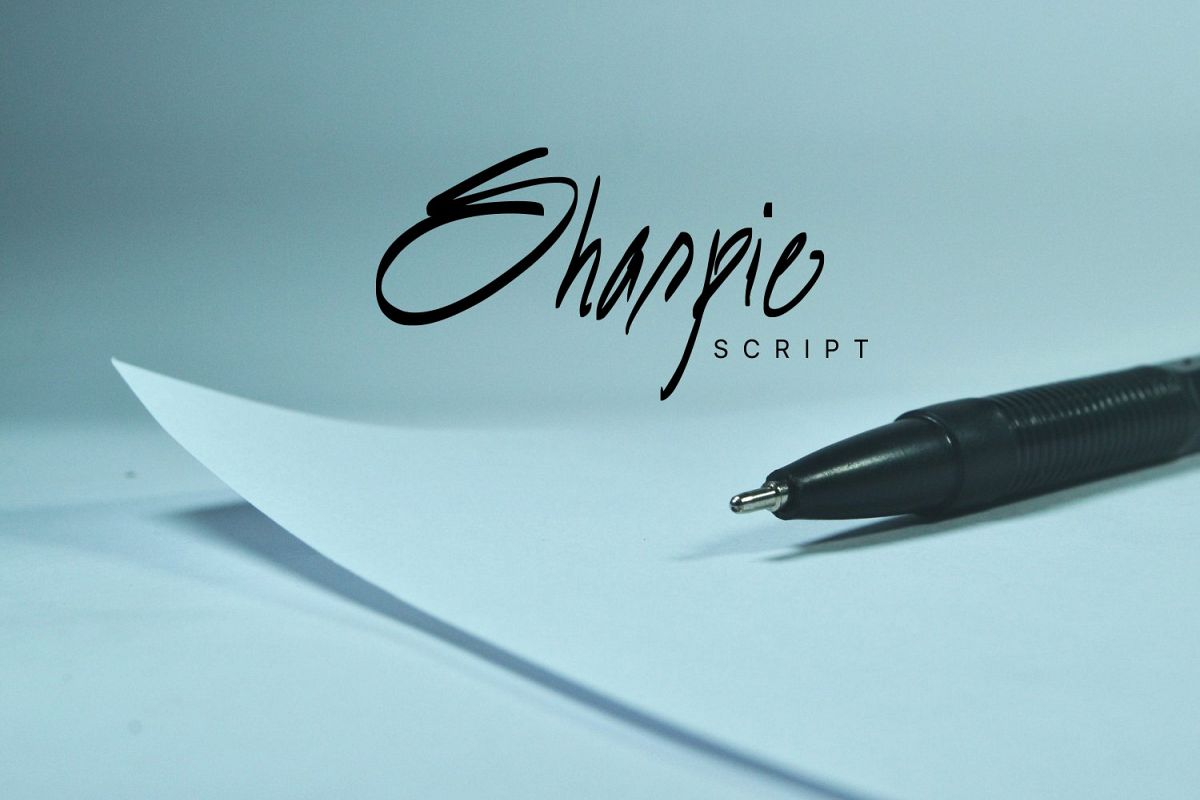Sharpie Script example image 1