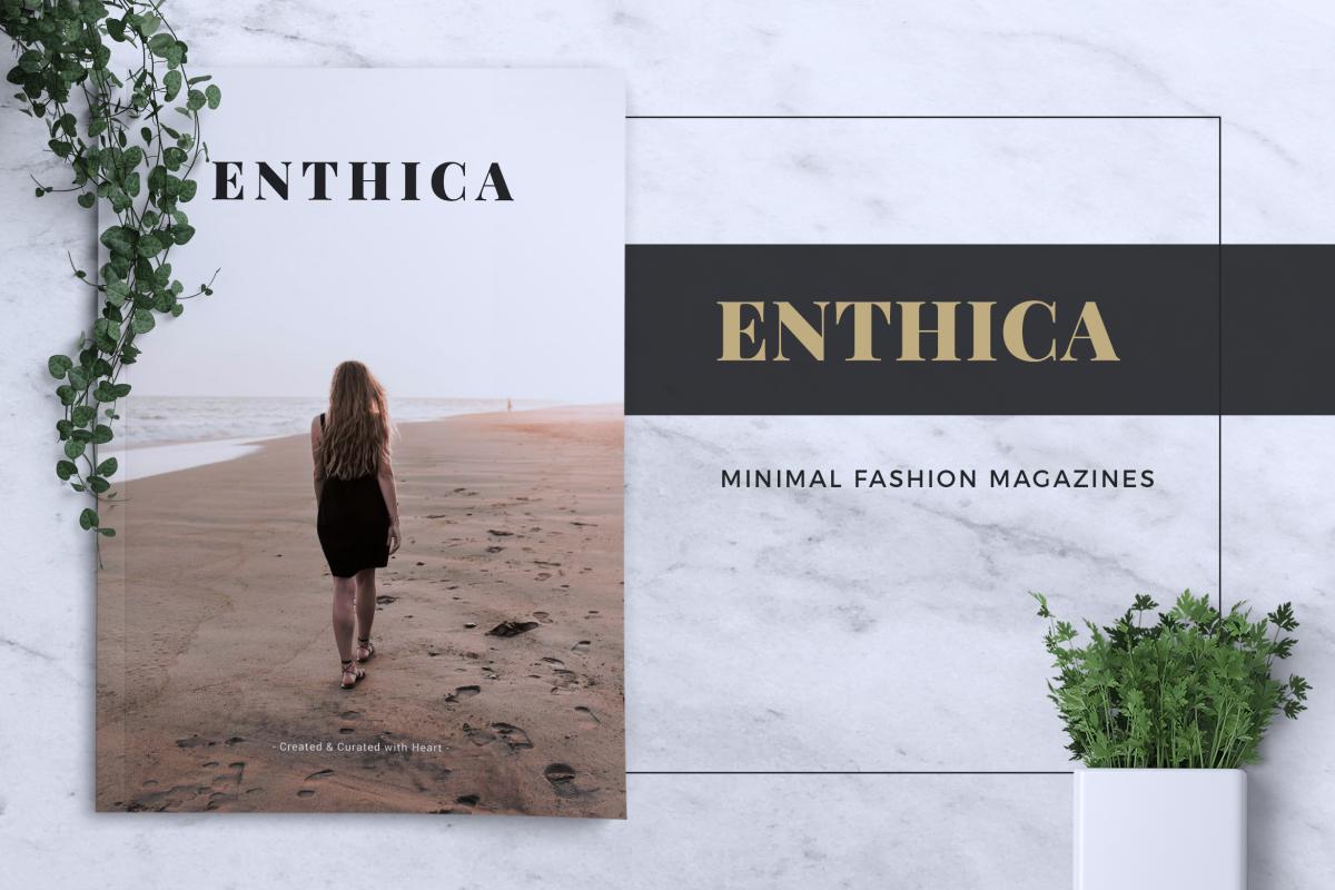 ENTHICA Fashion Magazines example image 1