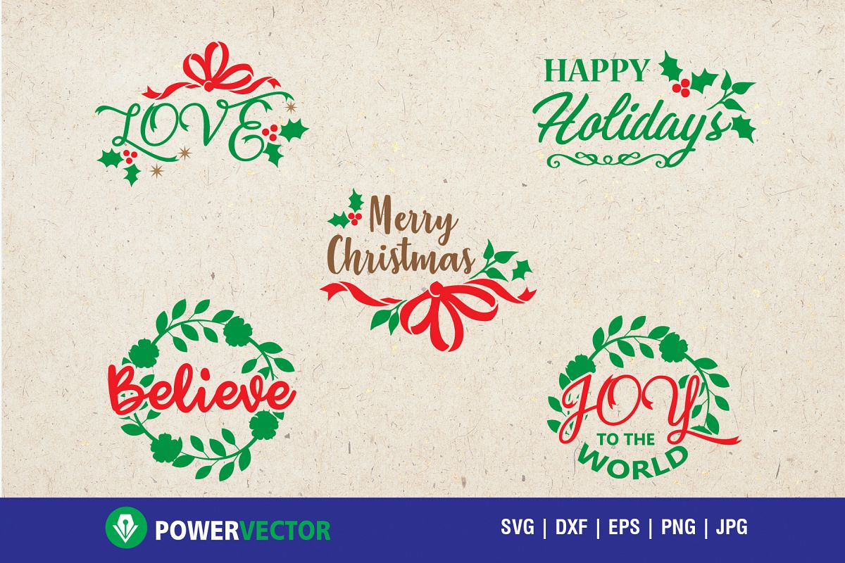 Christmas Sayings Svg Collection for Crafters