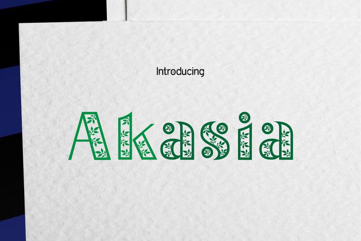Akasia example image 1