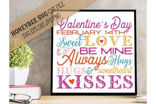 Valentine's Day Subway Art example image 1