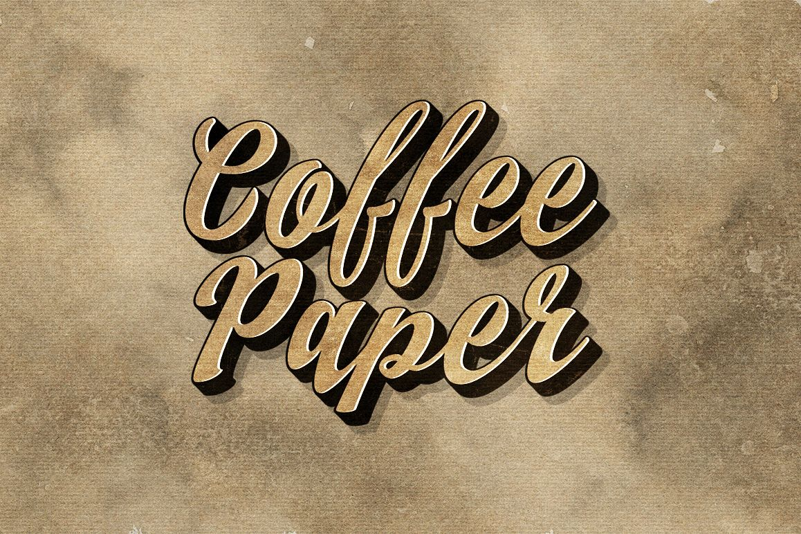 10 Coffee Paper Textures example image 1