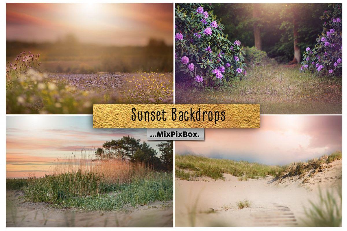 Sunset Backdrops example image 1