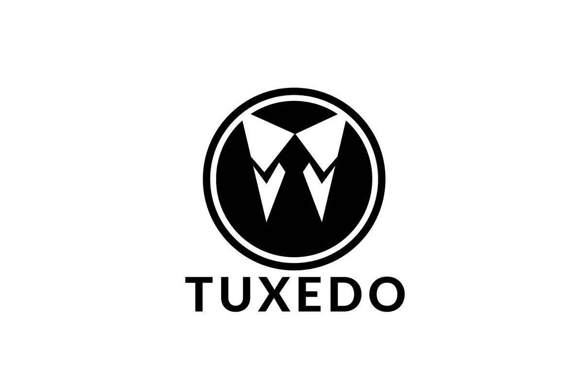 Tuxedo logo. Business man logo. Wedding Organizer logo. example image 1
