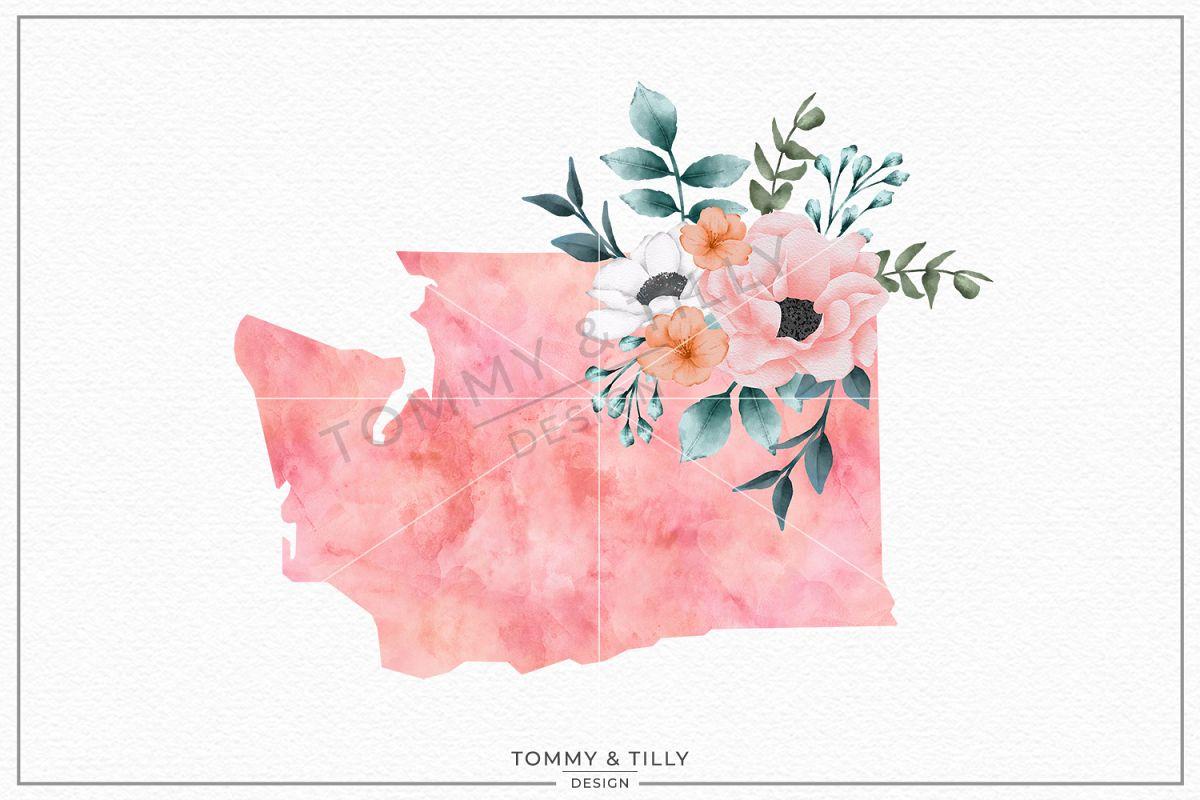 Washington State - Sublimation | PNG | Clipart example image 1