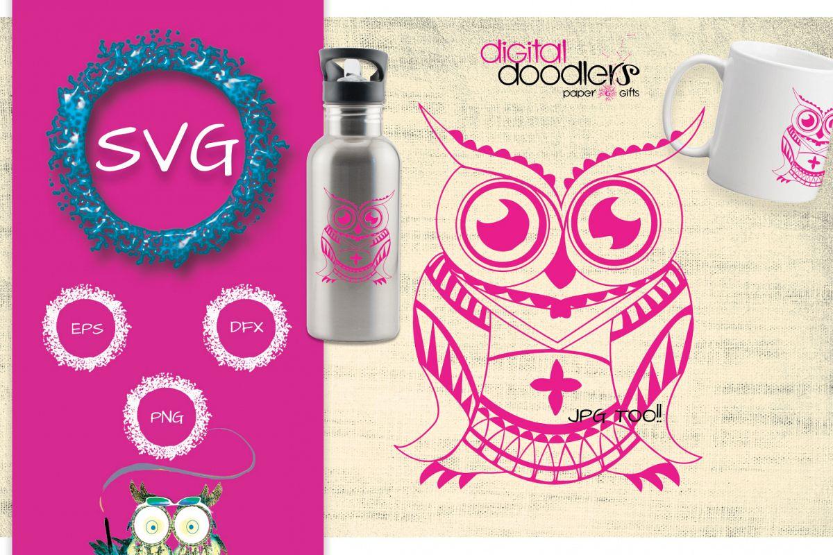 Mandala Owl example image 1