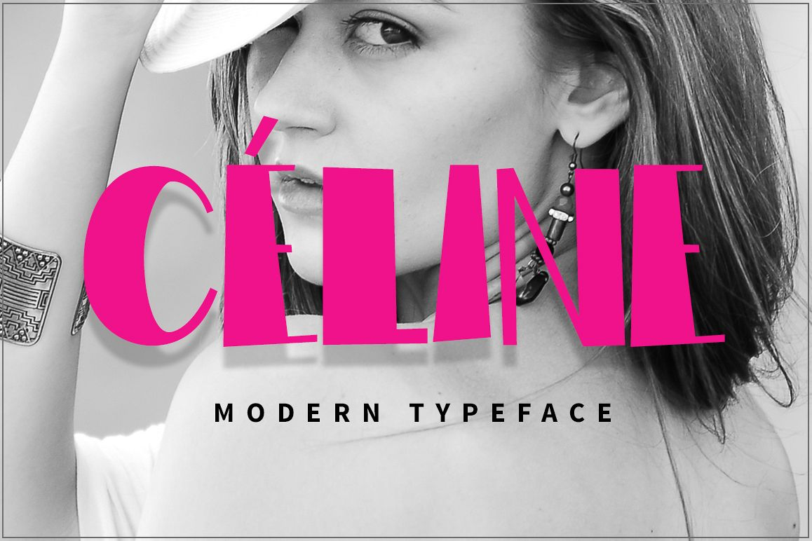 Celine Modern Typeface example image 1