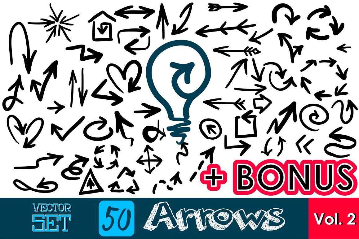 50 Arrows bundle. Vol. 2 example image 1