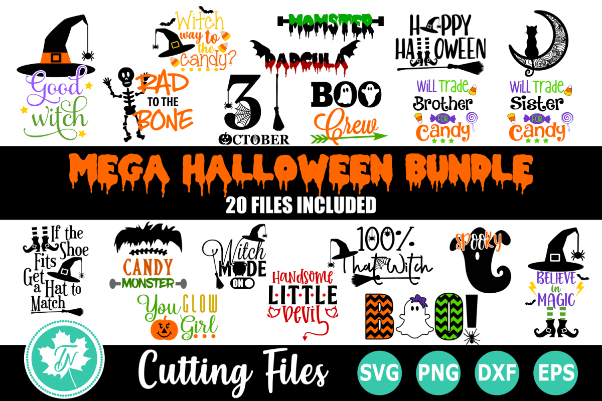 Halloween Bundle - A Halloween SVG Cut File example image 1