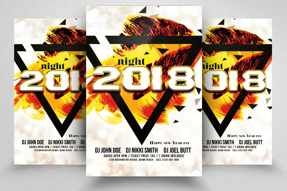 New Year EVE Flyer example image 1