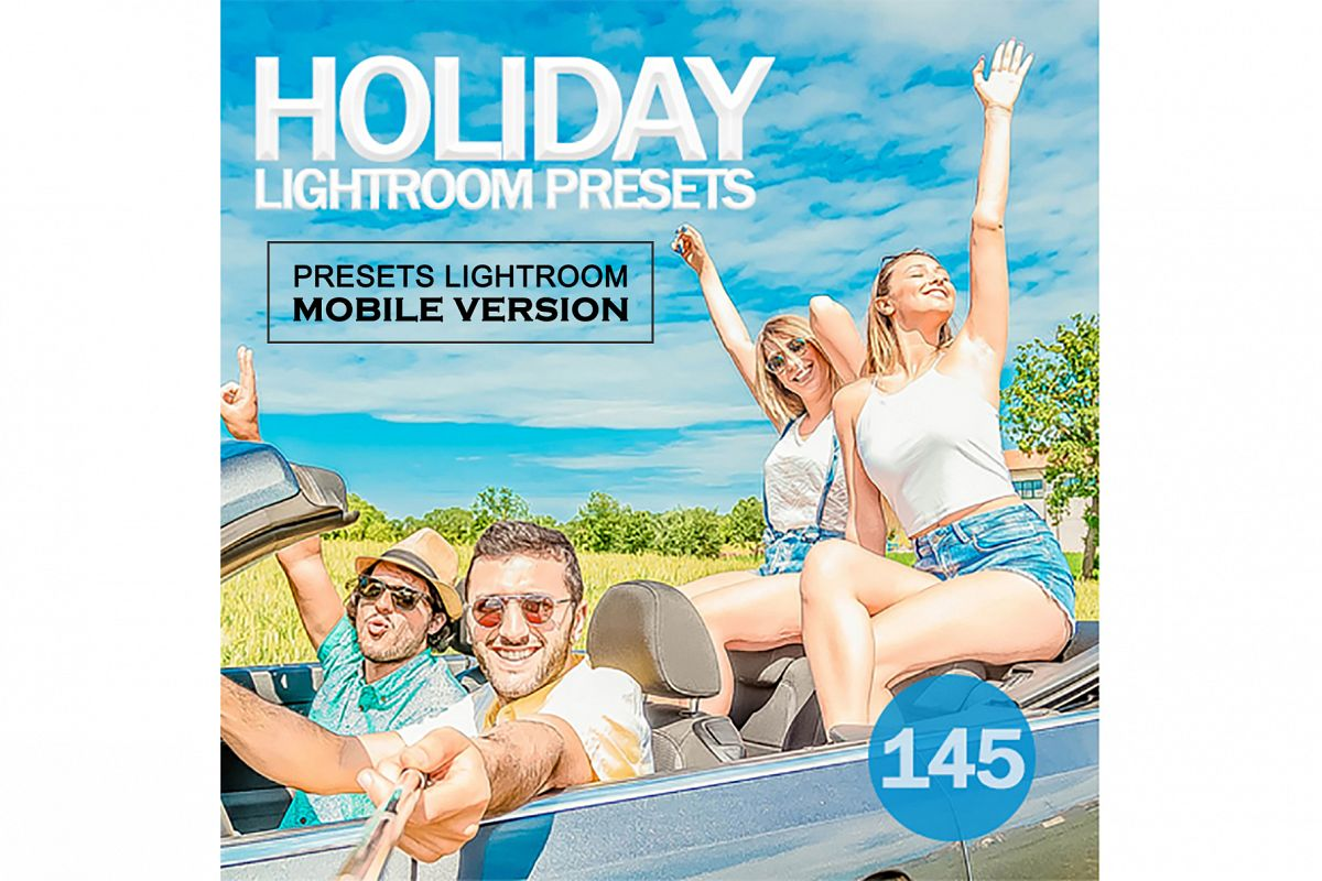 Holiday Lightroom Mobile Presets example image 1