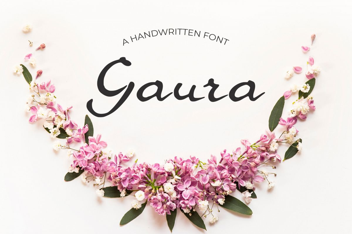 Gaura Font example image 1