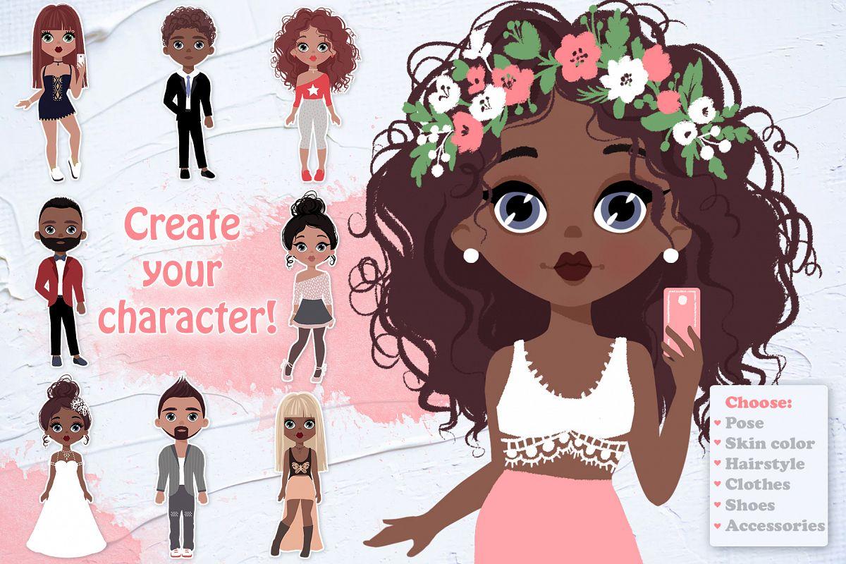 Character Creator! Boys & Girls example image 1