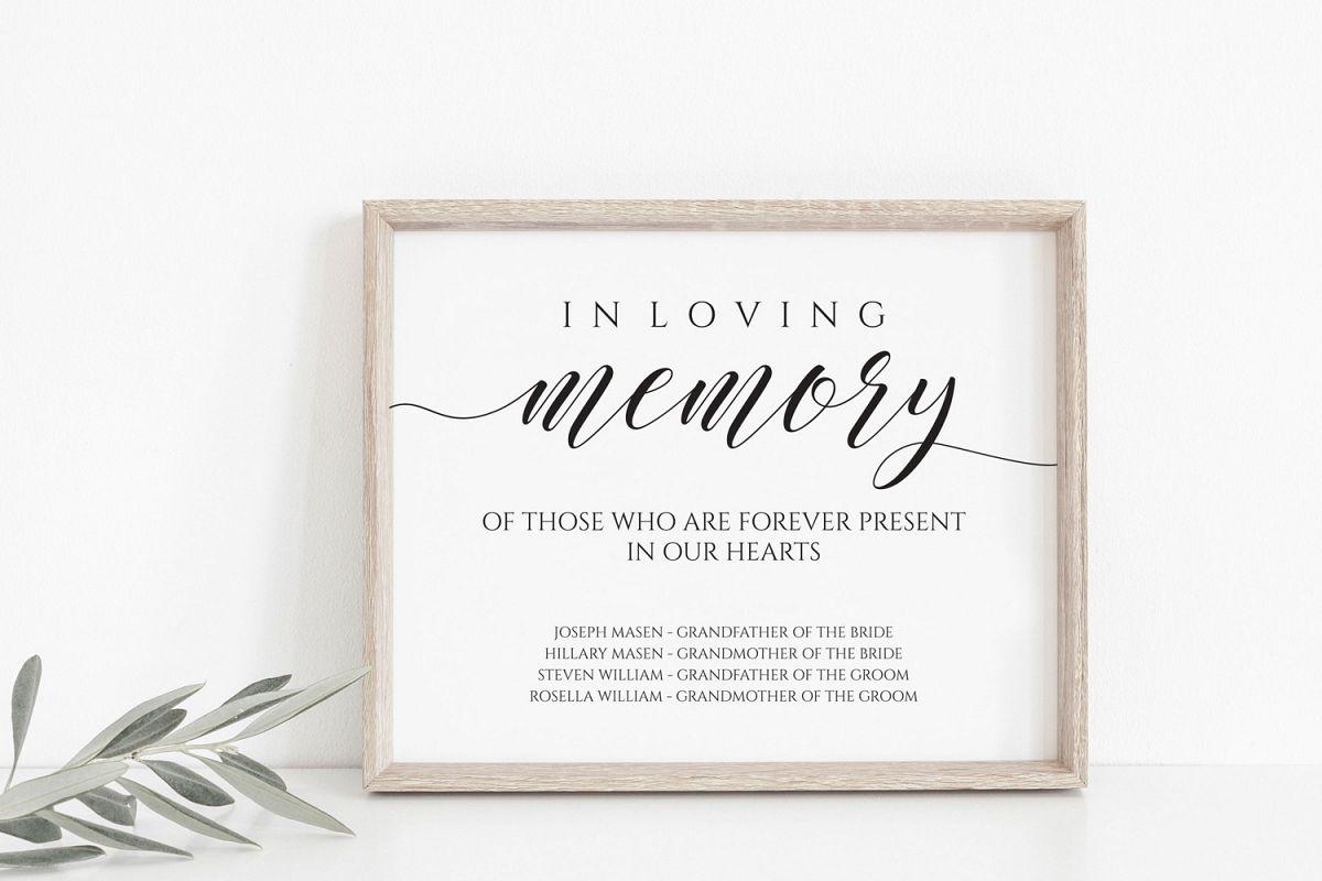 In loving memory example image 1