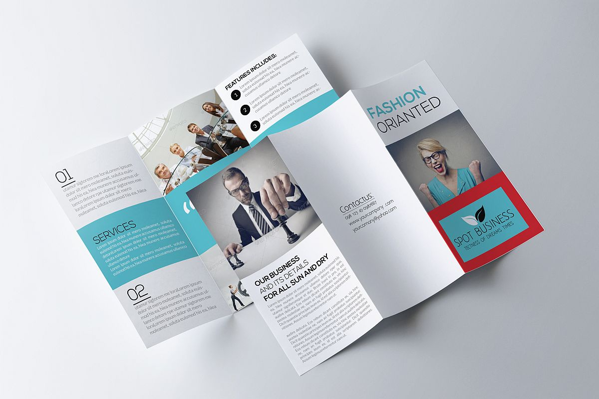 Trifold Psd example image 1
