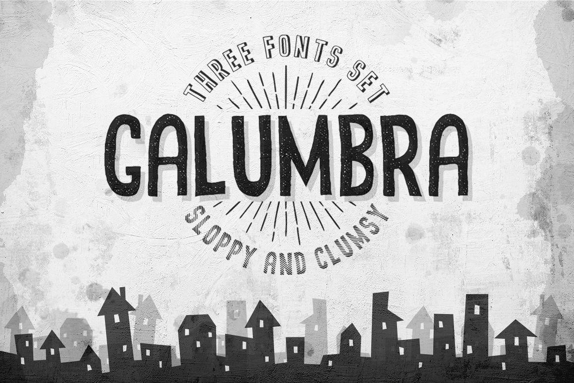 Galumbra Font Set example image 1