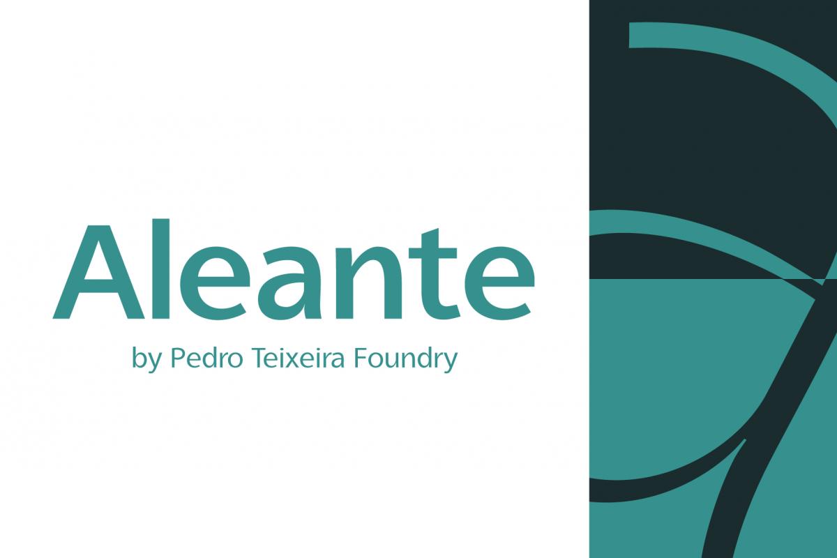 Aleante Sans SemiBold example image 1