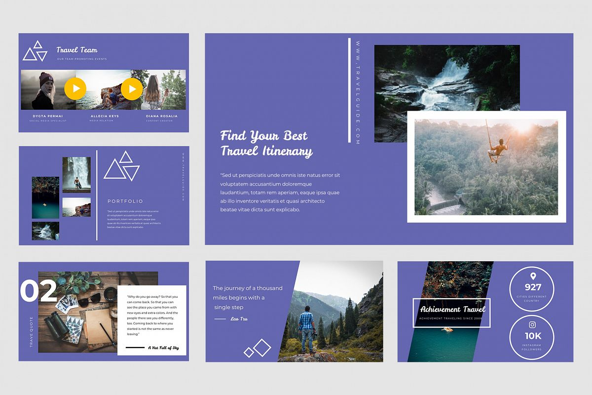 Travel powerpoint templates by tmint design bundles travel powerpoint templates example image toneelgroepblik Images