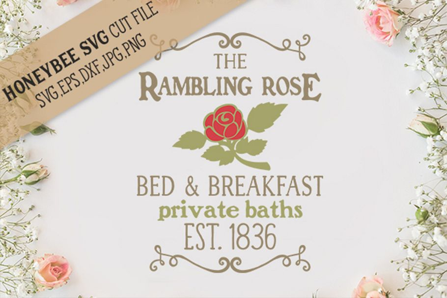 Bed And Breakfast svg example image 1