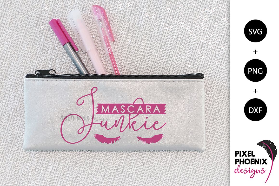 Mascara Junkie SVG example image 1