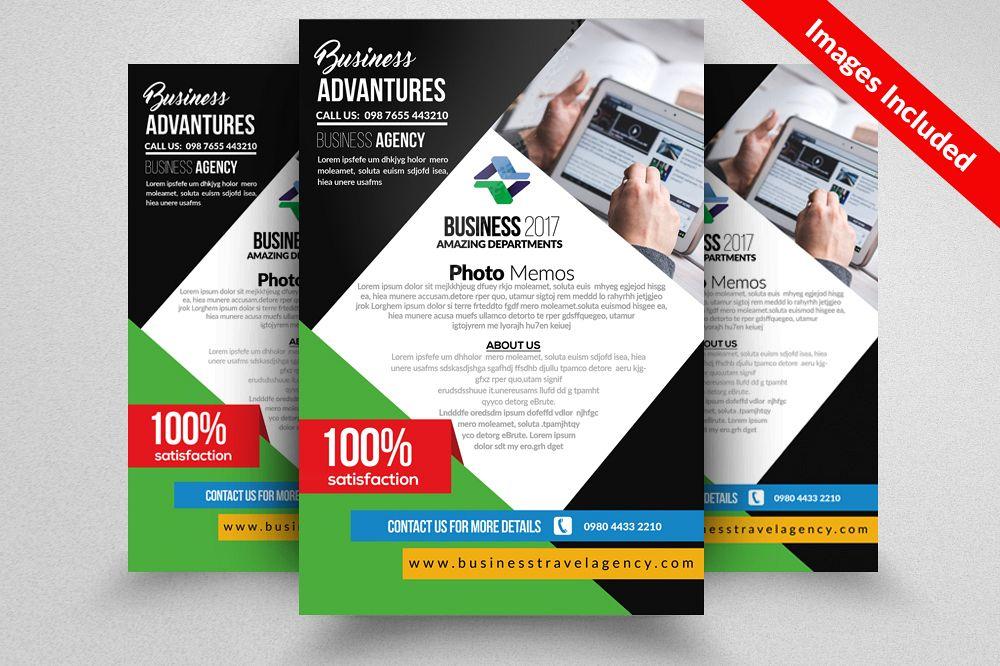 Venture Capital Firm Psd Flyer Template Design Bundles - Venture capital website template