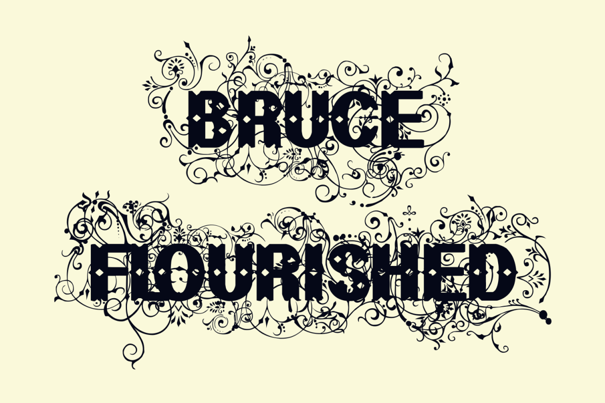 Bruce Flourished example image 1